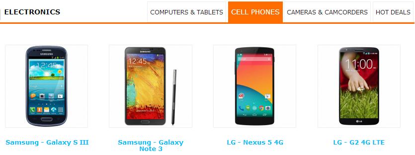 Multi-Vendor Special Categories